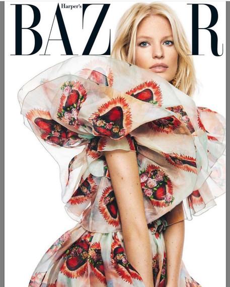 Caroline Winberg for Harpers Bazaar, Czech Republic