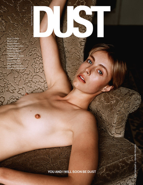 Edie Campbell for Dust Magazine 2020