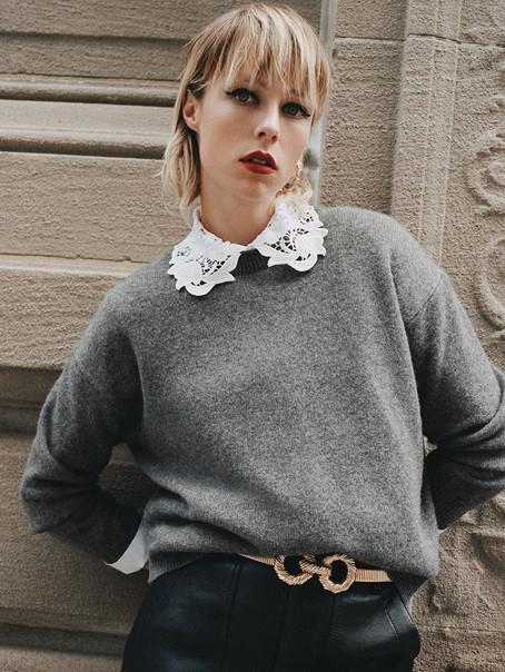 Edie Campbell, Zara AW19