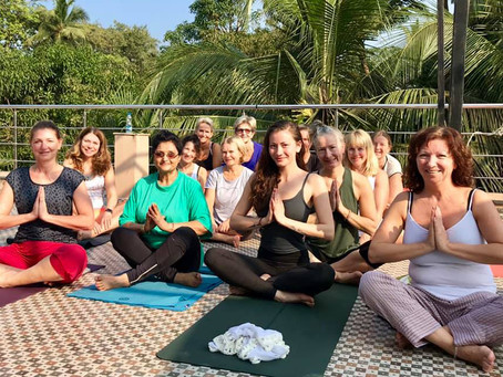 Yogaretreat i India 7 nov. 2020