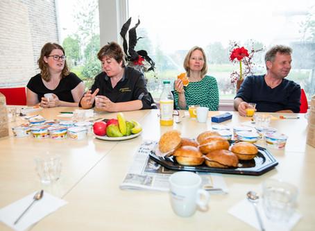 Koplopers Hogeland bijten spits af tijdens Kickstart ontbijt