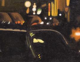 Madison Street Orange Headlights