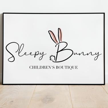 Sleepy Bunny Boutique Branding