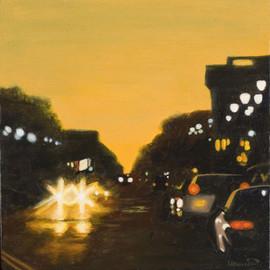 Madison Street Orange Sky