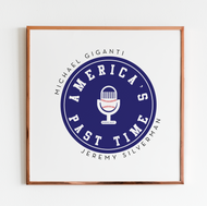 America's Past Time Podcast Logo Design