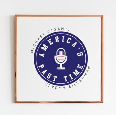 America's Past Time Podcast Logo Design