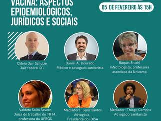 VACINA: ASPECTOS EPIDEMIOLÓGICOS, JURÍDICOS E SOCIAIS.