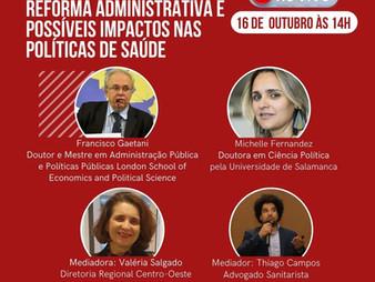 REFORMA ADMINISTRATIVA E POSSÍVEIS IMPACTOS NAS POLÍTICAS DE SAÚDE