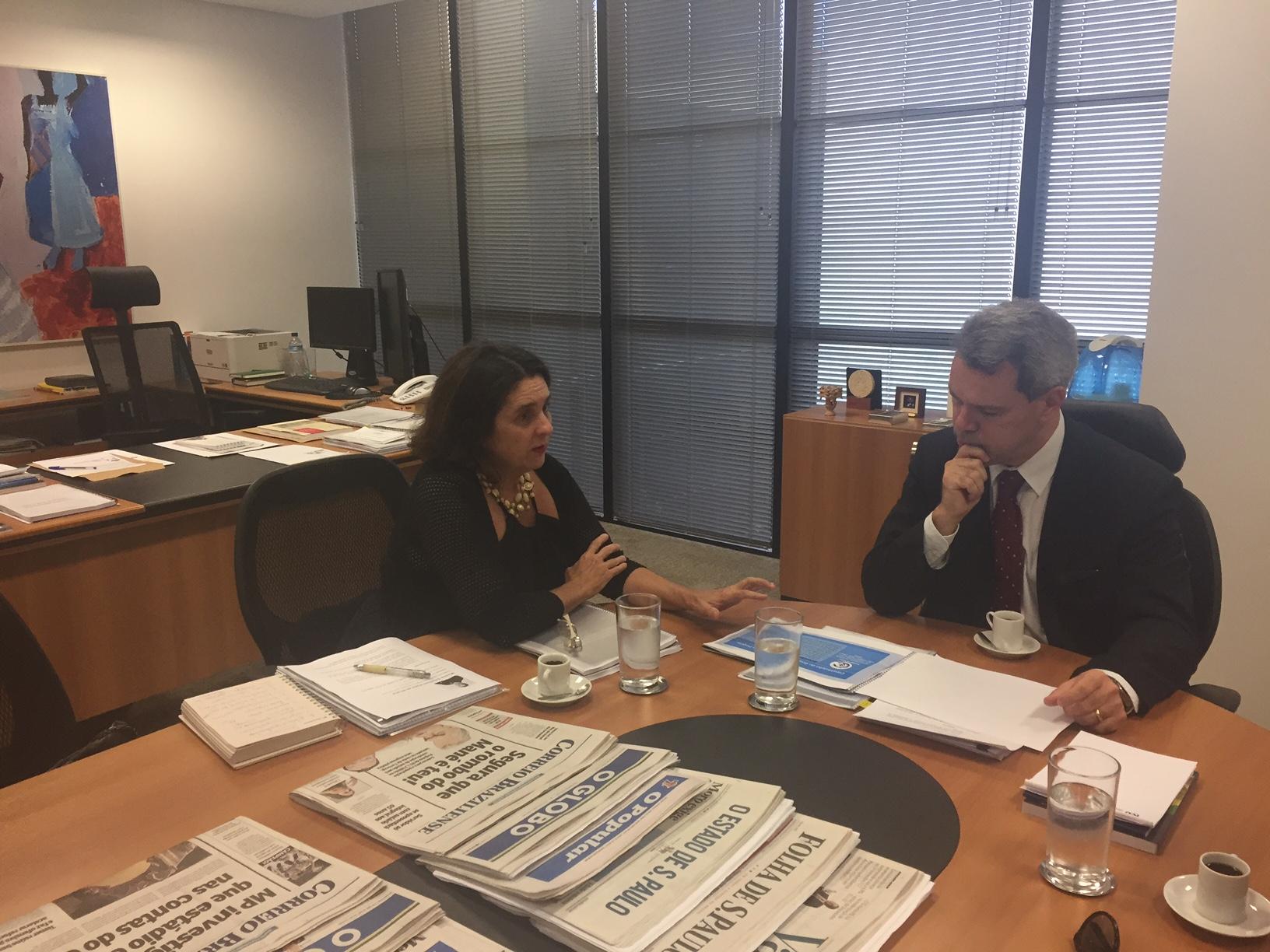 Entrevista com Ministro Weber