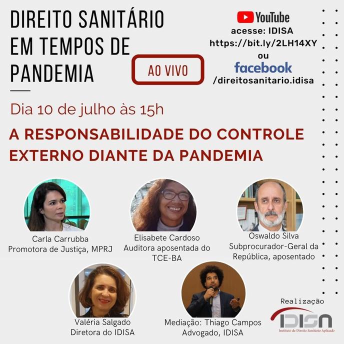 O Controle Externo e a pandemia do Covid-19