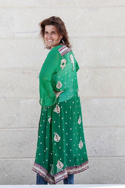 Sari Jacket: Arabian Nights