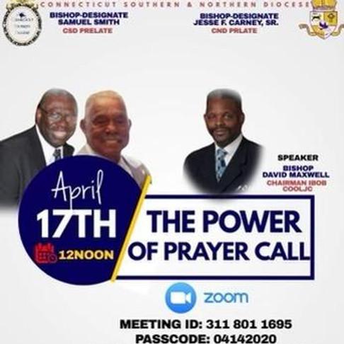 Power of Prayer Call