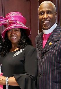 Apostle Raymond J and Lady Joan D Keith.