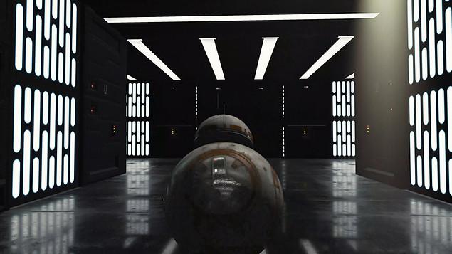 Star Wars BB8 Animation