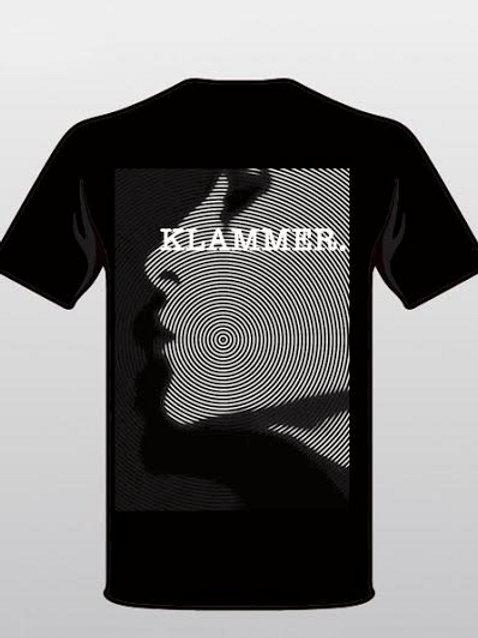 "Klammer ""Spiral Girl"" swirl face t-shirt"