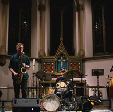 Alex Hitchcock Trio launch night