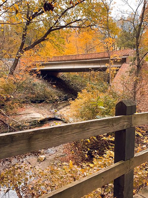 Hennepin Canyon Bridge - (Print only)