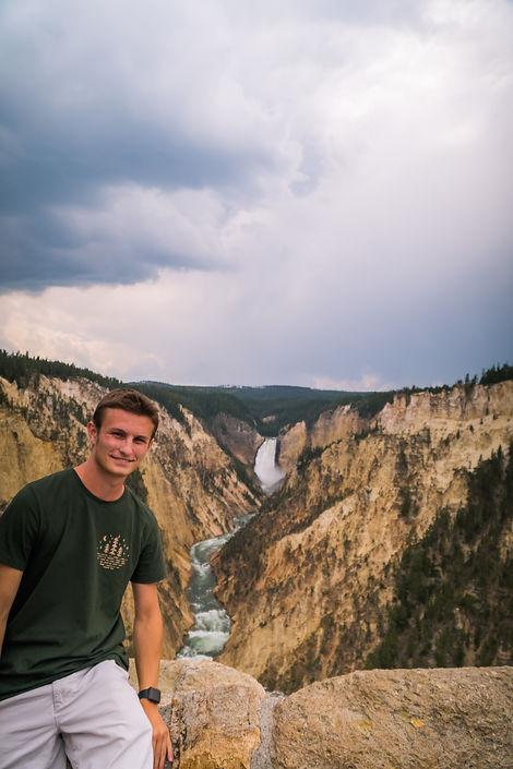 Matthew at Yellowstone Lower Falls-1.jpg