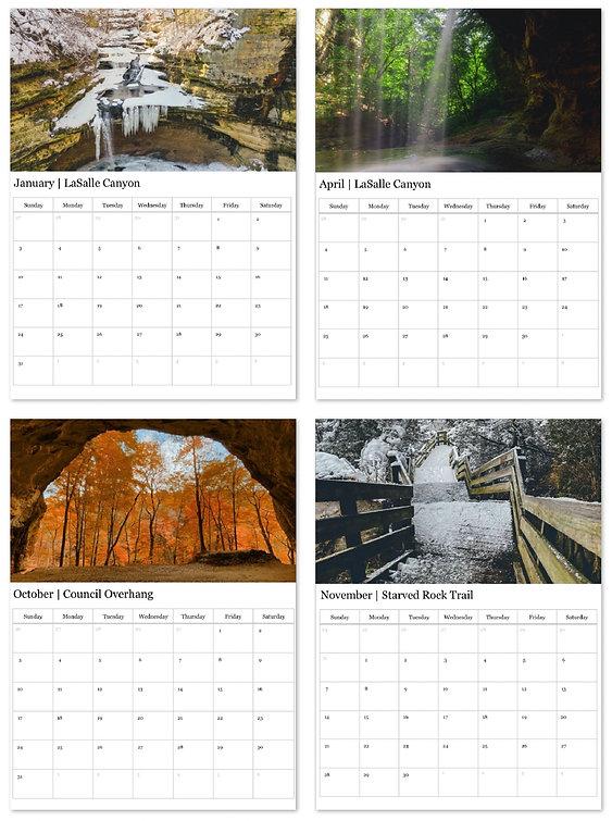 2021 Calendar - Starved Rock State Park