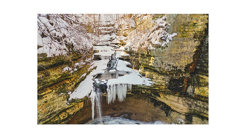 LaSalle Canyon, Starved Rock State Park (Print only)