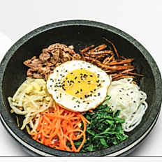Stone Bowl Bibim-Bap(Beef or mushroom)
