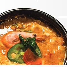 Tofu soup(beef or seafood or mushroom)
