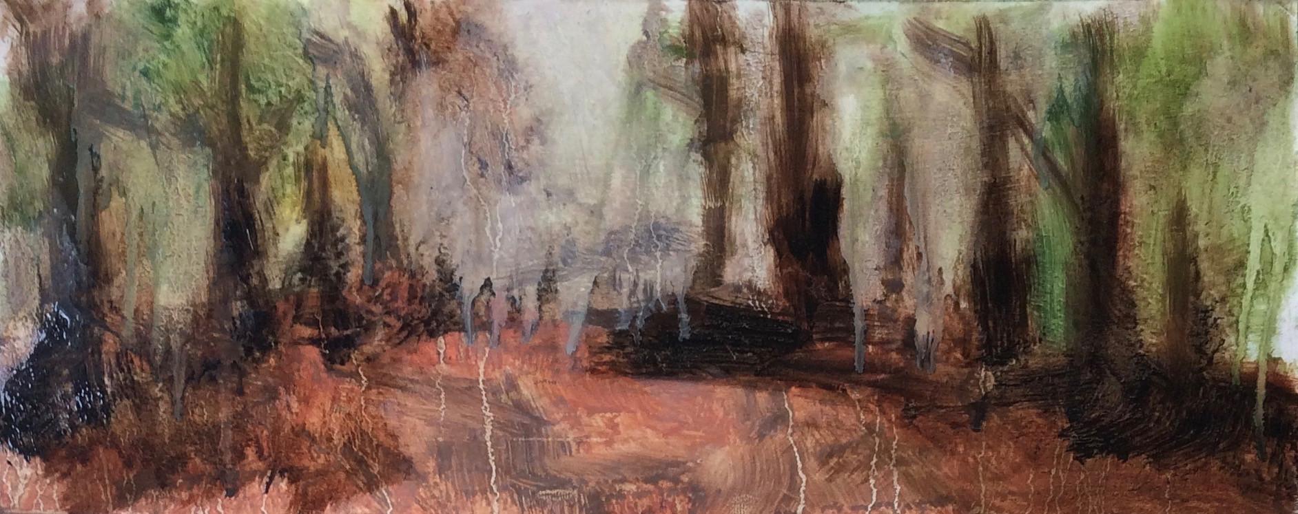 Beech Glade Oil Sketch II