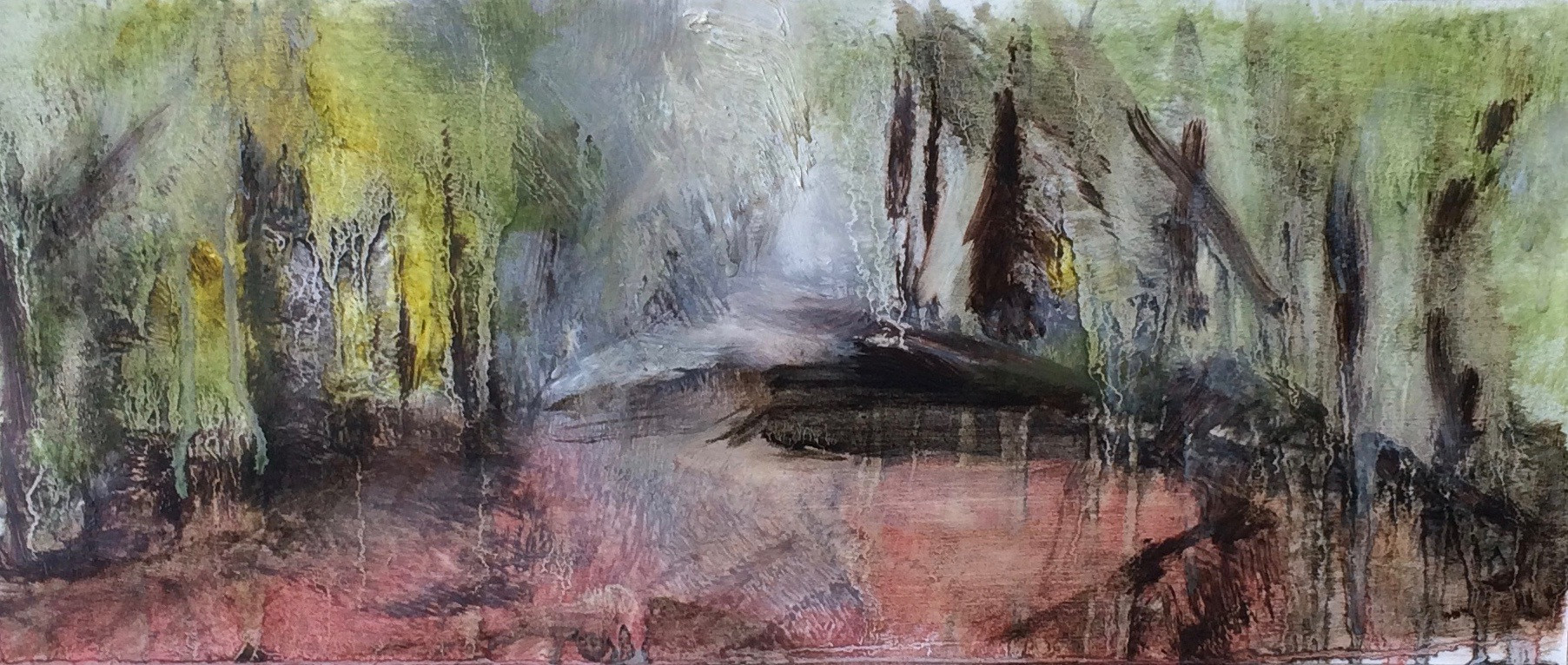 Beech Glade Oil Sketch I