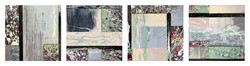 Abstract Composition - Set of 4 - Pret ART Porter Series