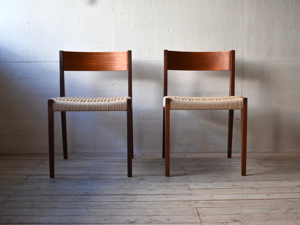3-091 Dining chair - Poul Cadovius