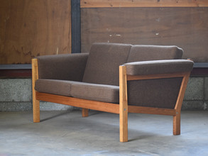 3-045B GE40 2seat sofa - Hans J Wegner