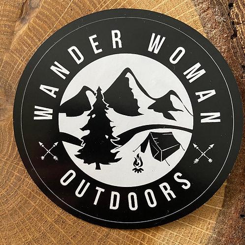 Wander Woman Outdoors Car Decal