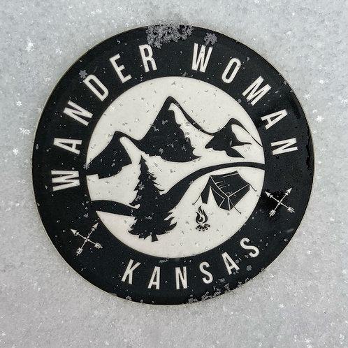 Wander Woman Kansas Sticker