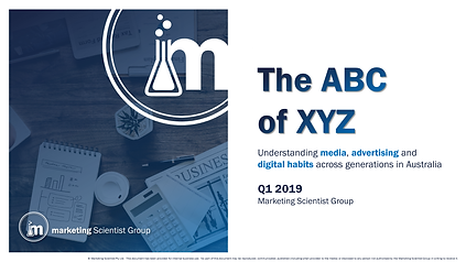 The ABC of XYZ: Media Advertising and Digital Habits