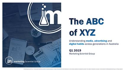 The ABC of XYZ: Media Advertising and Digital Habits