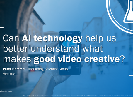 Can AI technology help us better understand what makes good video creative?
