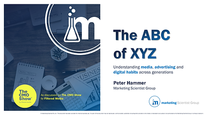 Marketing Scientist Group_The ABC of XYZ
