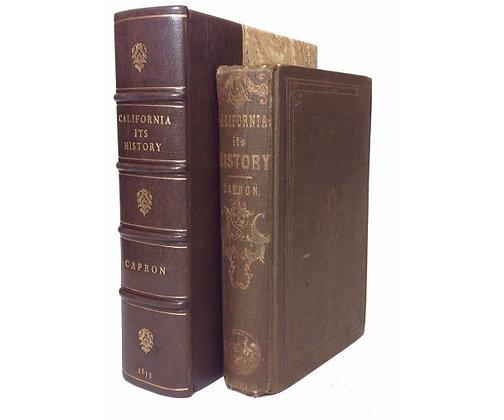 CAPRON, Elisha Smith - History of California