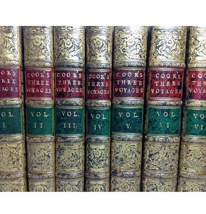 COOK, Captain James (1728-1779) 7 Volume Set