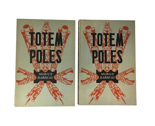 Barbeau, Marius (1883-1969) - Totem Poles