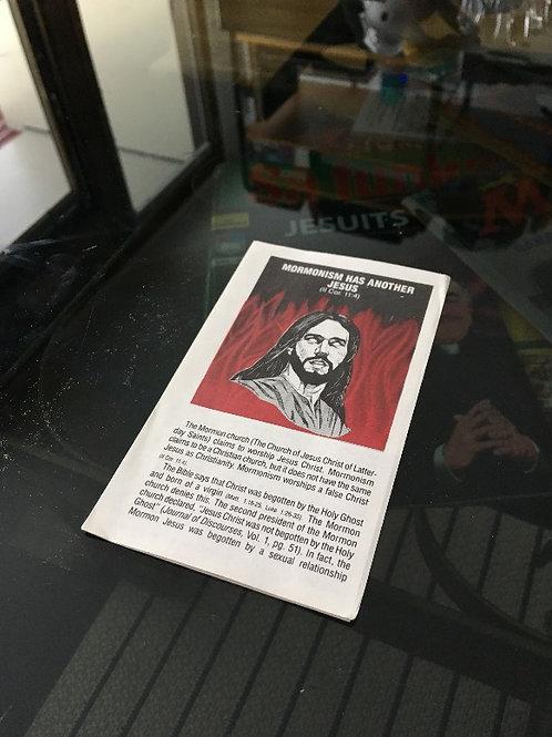 (ENG) Mormonism Has Another Jesus (4 sidors traktat)