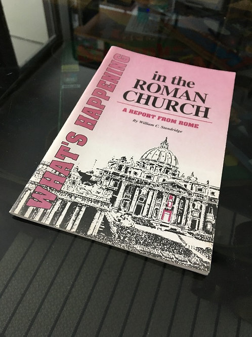 (ENG) What's Happening In the Roman Chuch