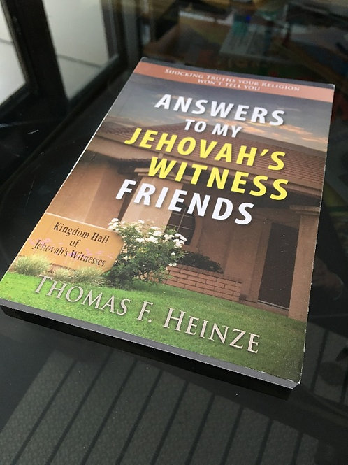 (ENG) Answers to my Jehova's Witness Friends