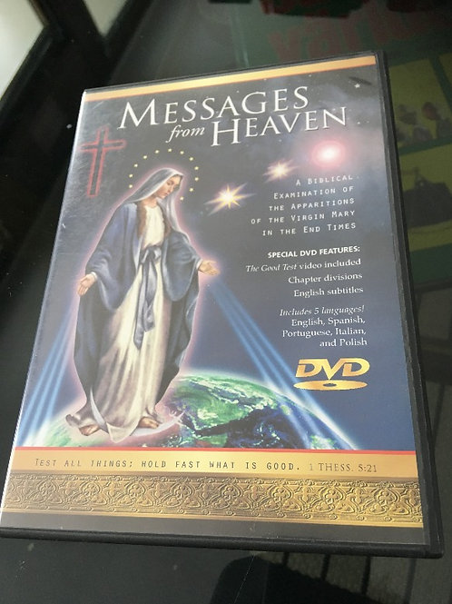 (ENG) Messages from Heaven DVD