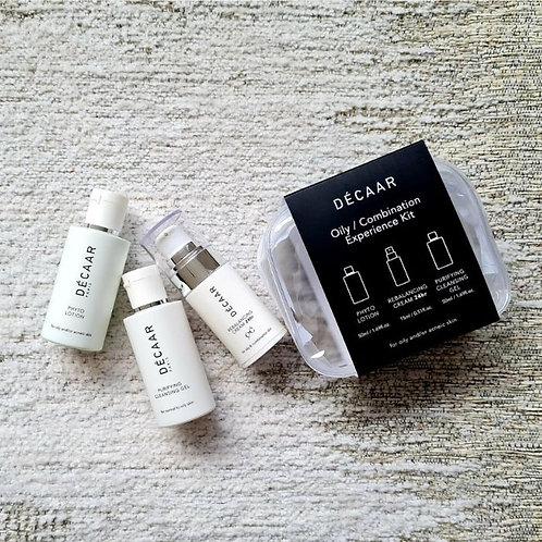 Décaar experience/travel kit oily & combination skin