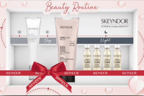 Skeyndor Valentine's day kit day&night