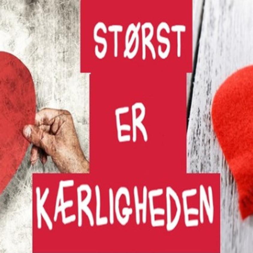 TEMA-AFTEN for Par: Tro, Håb og Kærlighed.