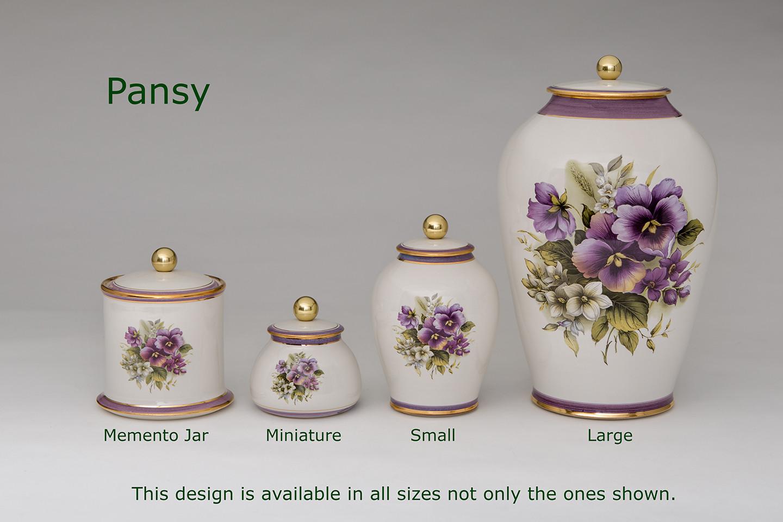 Pansy Urns