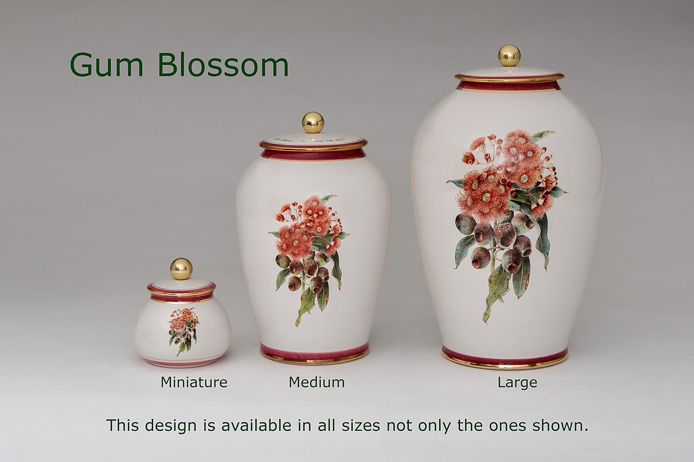 Gum Blossom Urns