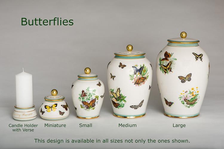 Butterfly Urns